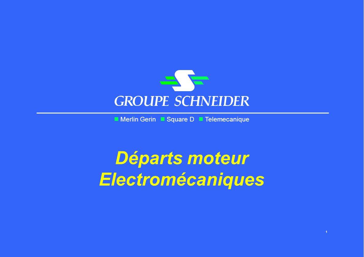 Départs moteur Electromécaniques