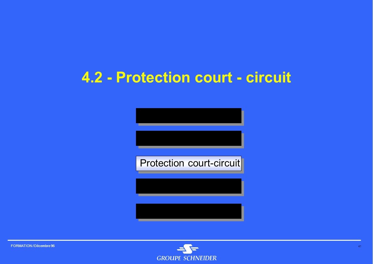 4.2 - Protection court - circuit