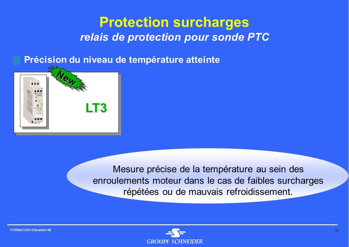 Protection surcharges relais de protection pour sonde PTC