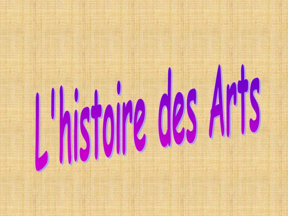 L histoire des Arts