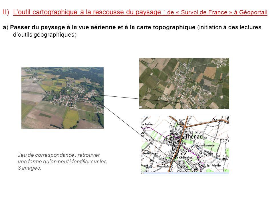 L'outil cartographique à la rescousse du paysage : de « Survol de France » à Géoportail