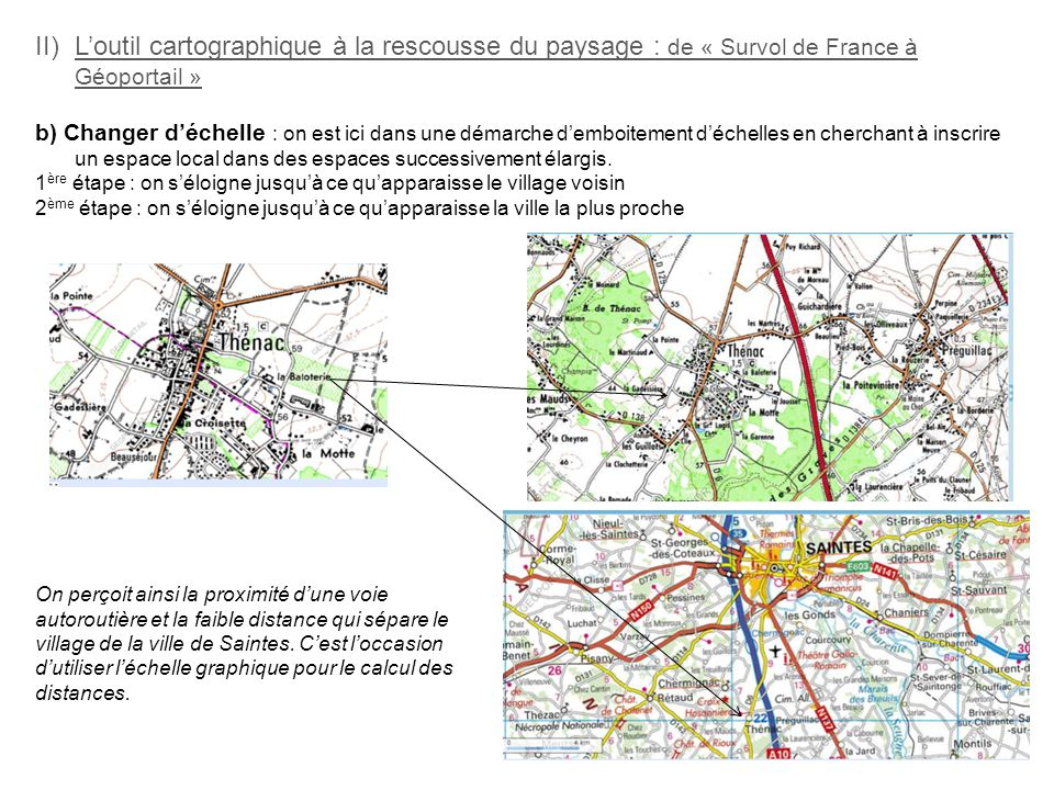 L'outil cartographique à la rescousse du paysage : de « Survol de France à Géoportail »