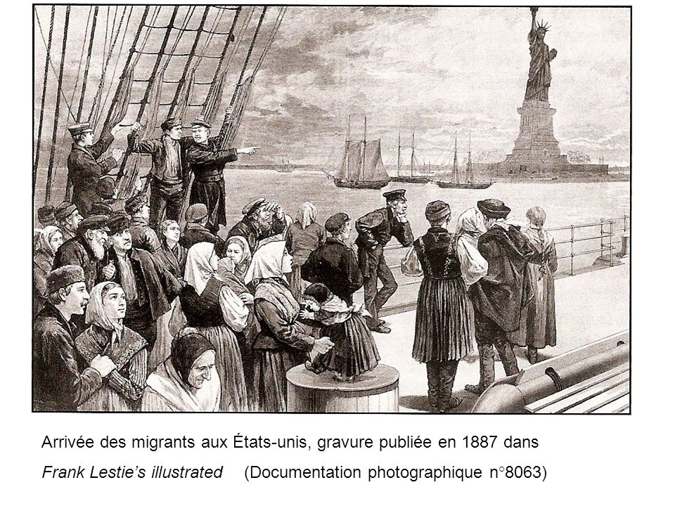 Ellis Island Arriv Ef Bf Bde Des Immigrants
