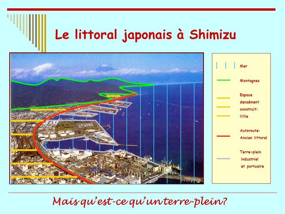 Le littoral japonais à Shimizu