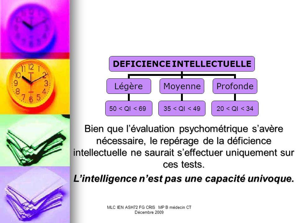 L'intelligence n'est pas une capacité univoque.