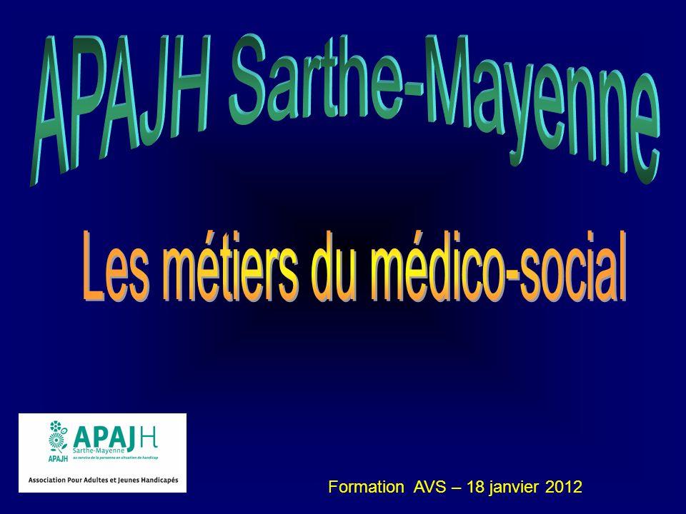 Les métiers du médico-social