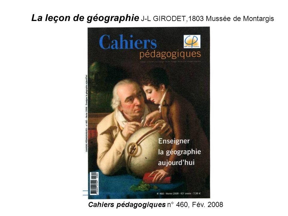 La leçon de géographie J-L GIRODET,1803 Mussée de Montargis