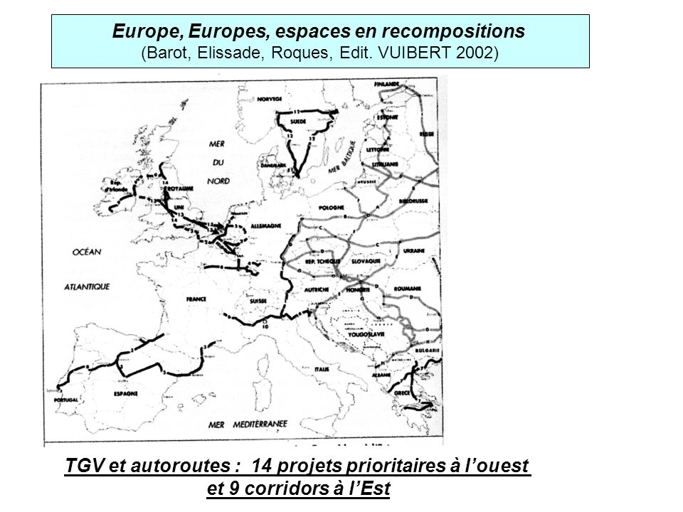Europe, Europes, espaces en recompositions