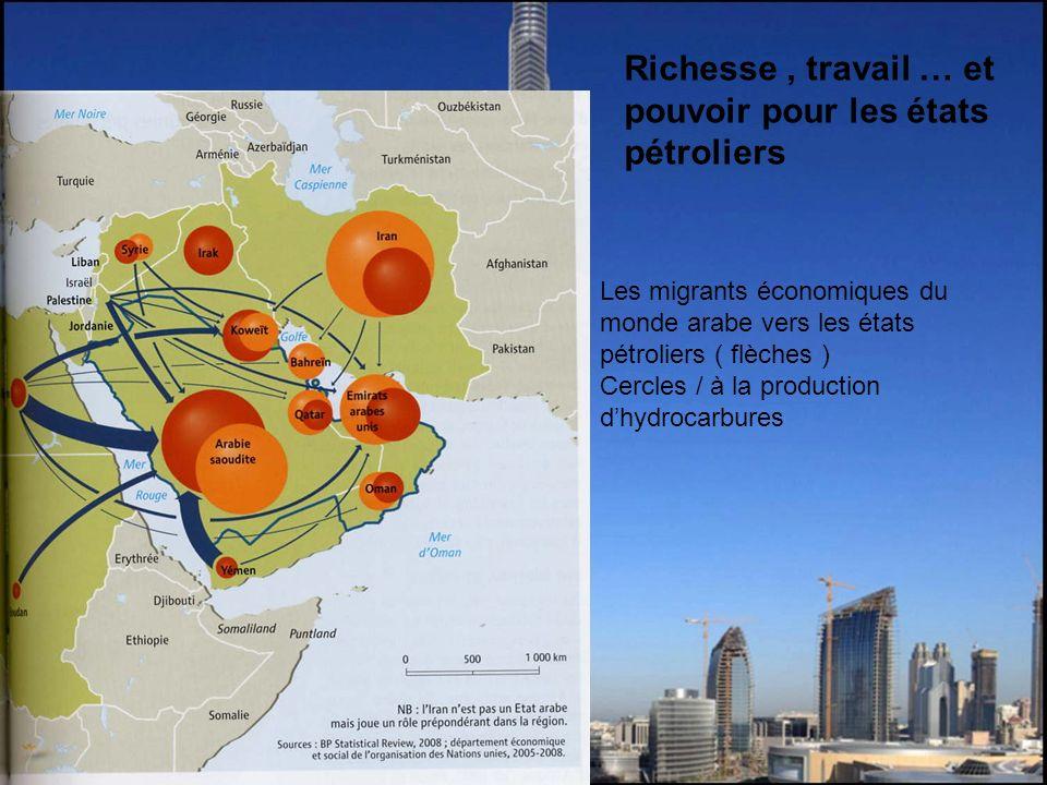 Richesse , travail … et pouvoir pour les états pétroliers