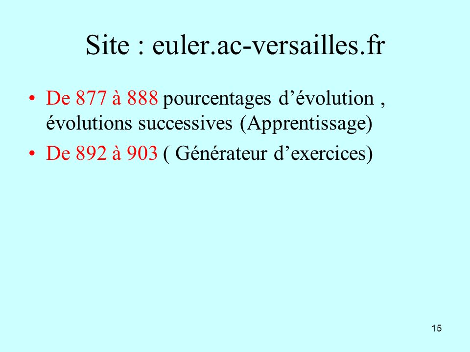 Site : euler.ac-versailles.fr