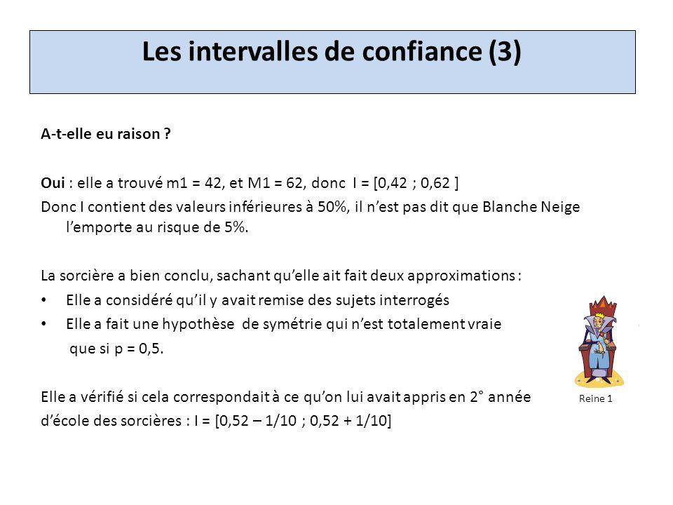 Les intervalles de confiance (3)
