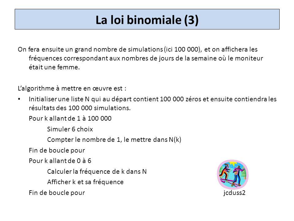 La loi binomiale (3)
