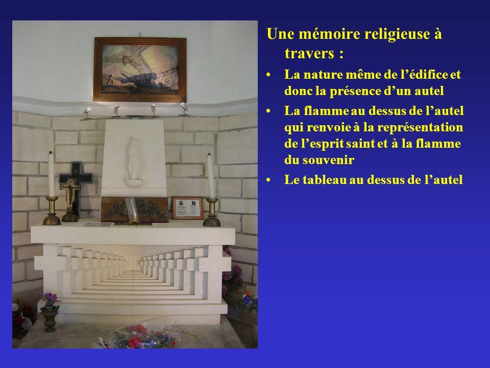 Une mémoire religieuse à travers :