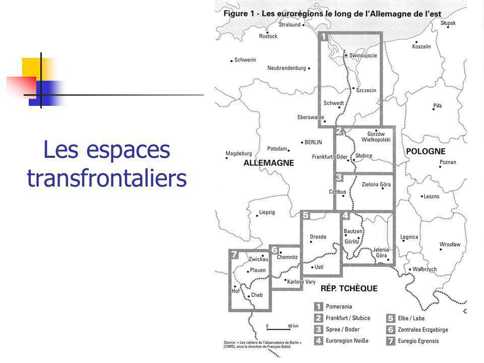 Les espaces transfrontaliers