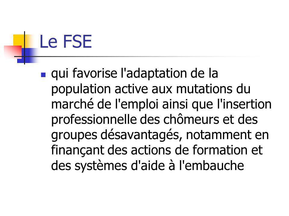 Le FSE