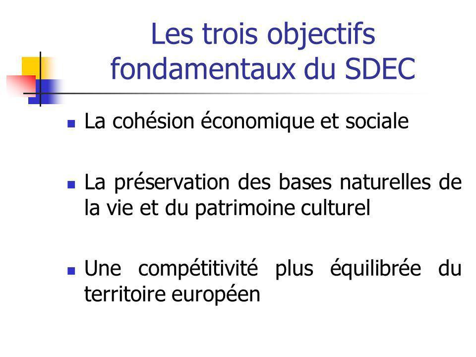 Les trois objectifs fondamentaux du SDEC