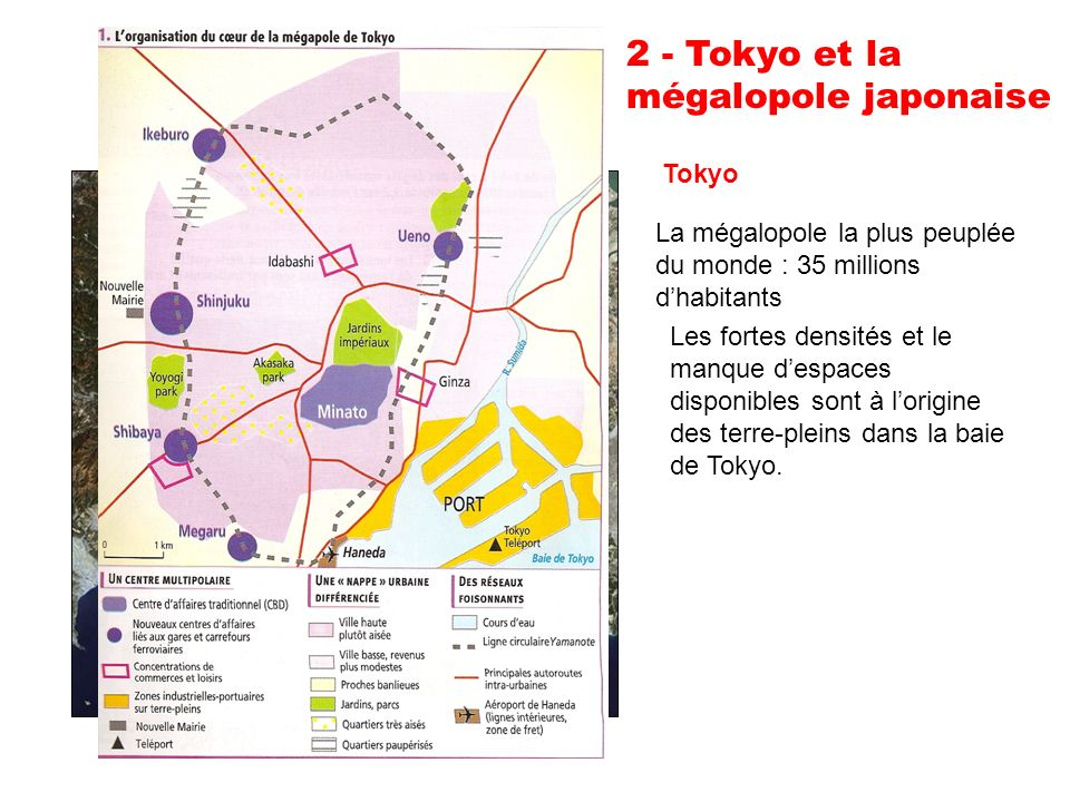 2 - Tokyo et la mégalopole japonaise Tokyo