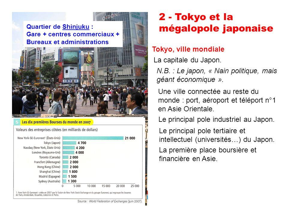2 - Tokyo et la mégalopole japonaise