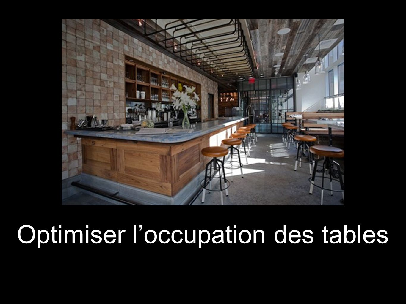 Optimiser l'occupation des tables