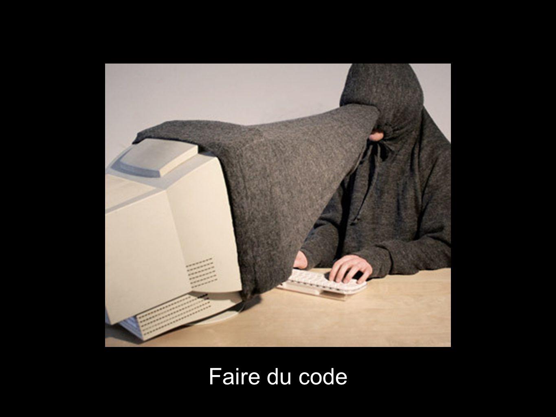 Faire du code