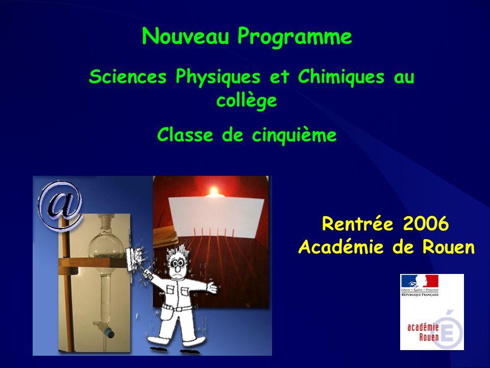 Rentrée 2006 Académie de Rouen