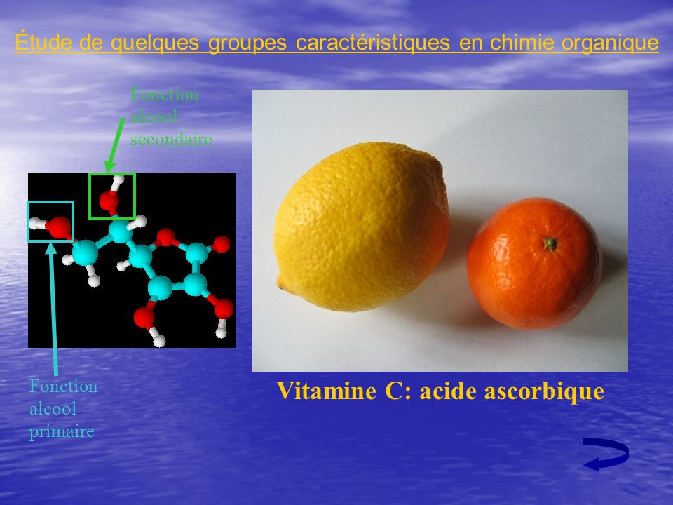 Vitamine C: acide ascorbique