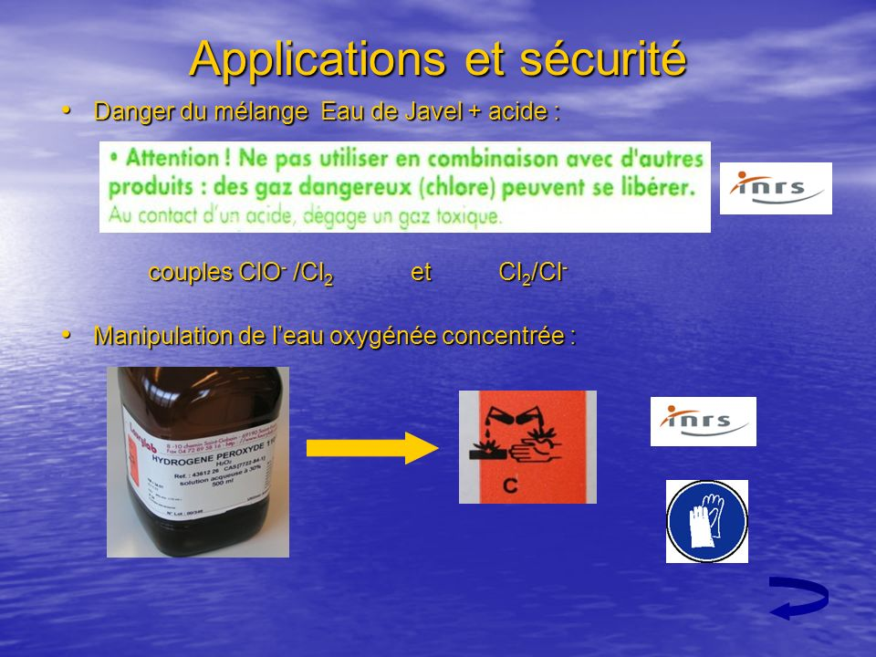 Applications et sécurité