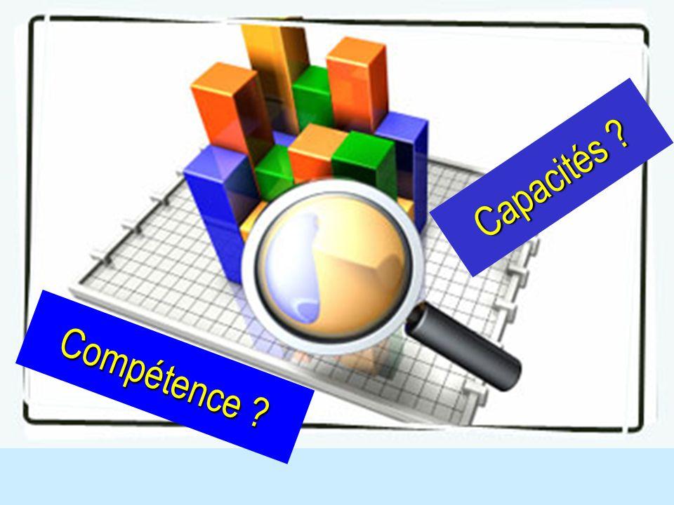 Compétence Capacités Recueil des CI des stagiaires sur ces 2 concepts. 13