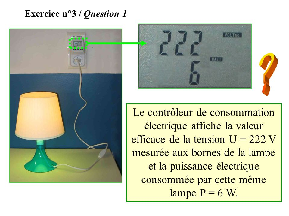 Exercice n°3 / Question 1