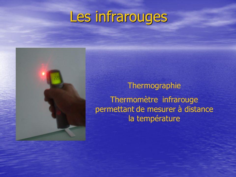 Thermomètre infrarouge permettant de mesurer à distance la température