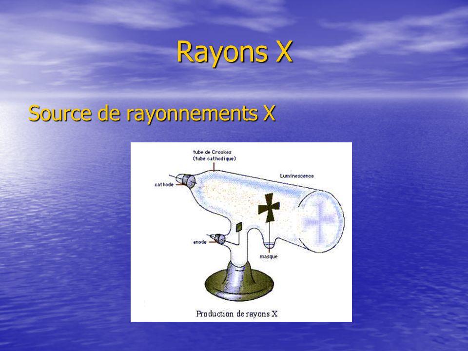 Rayons X Source de rayonnements X Prendre le tube du labo en photo