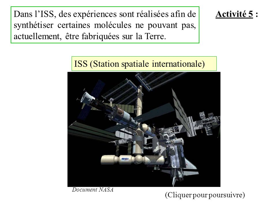 ISS (Station spatiale internationale)