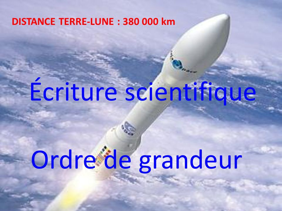 Écriture scientifique