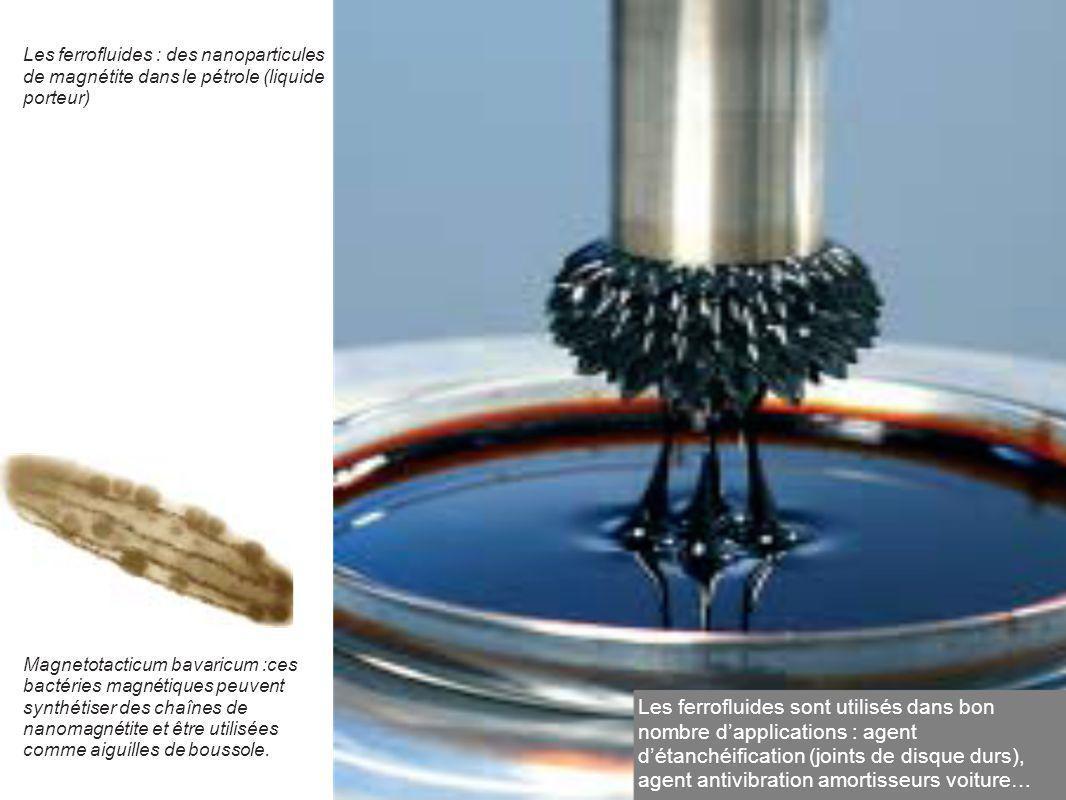 Les ferrofluides : des nanoparticules