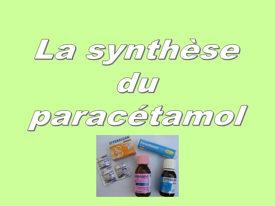 La synthèse du paracétamol