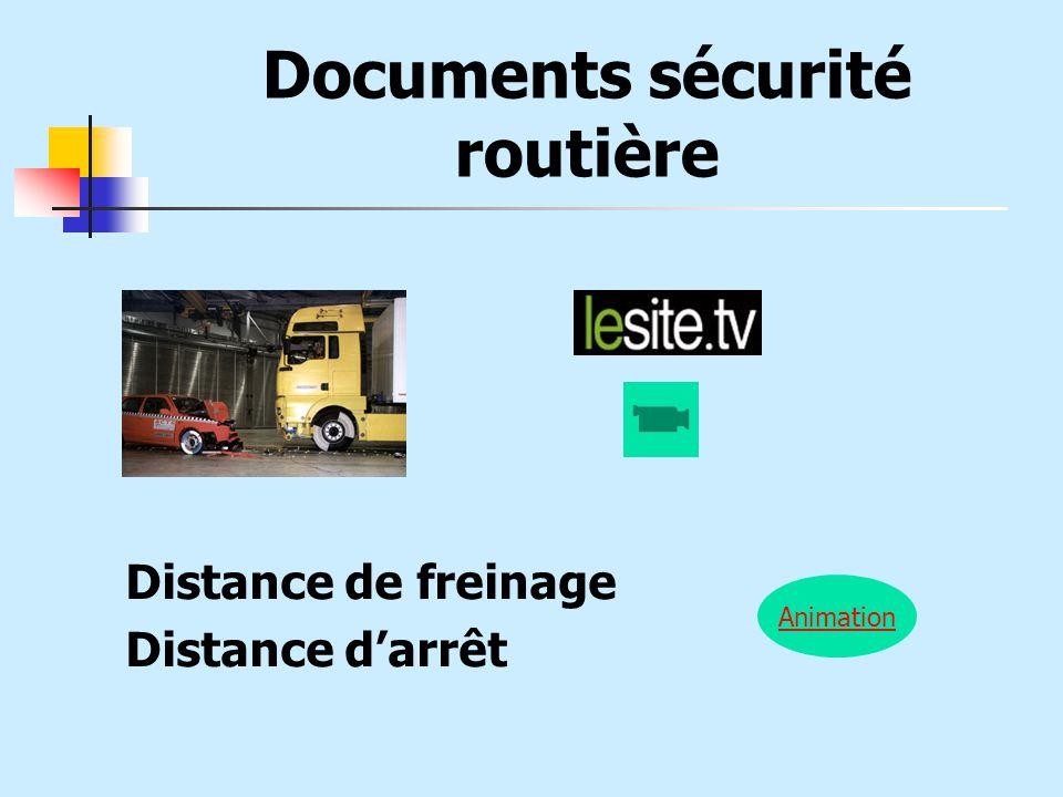 Documents sécurité routière