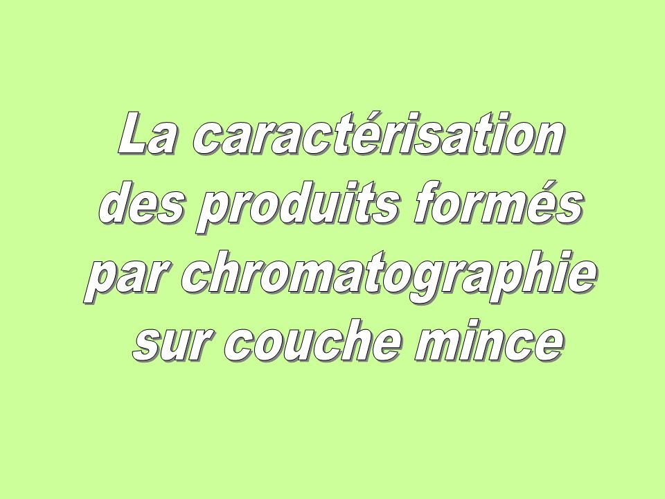 L 39 hydrolyse de l 39 aspartame ppt video online t l charger - Chromatographie sur couche mince definition ...