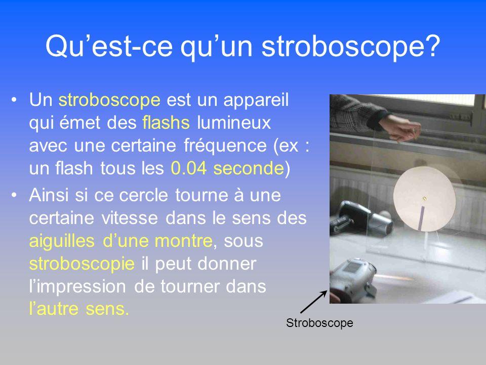 Qu'est-ce qu'un stroboscope