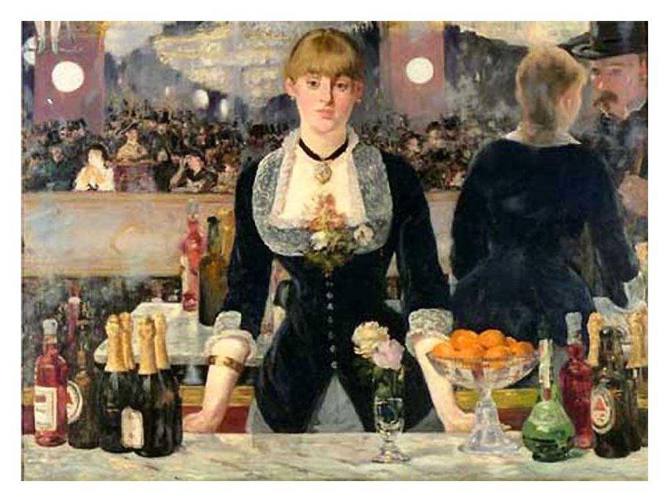 Édouard Manet, XIXème siècle: Bar aux folies bergères