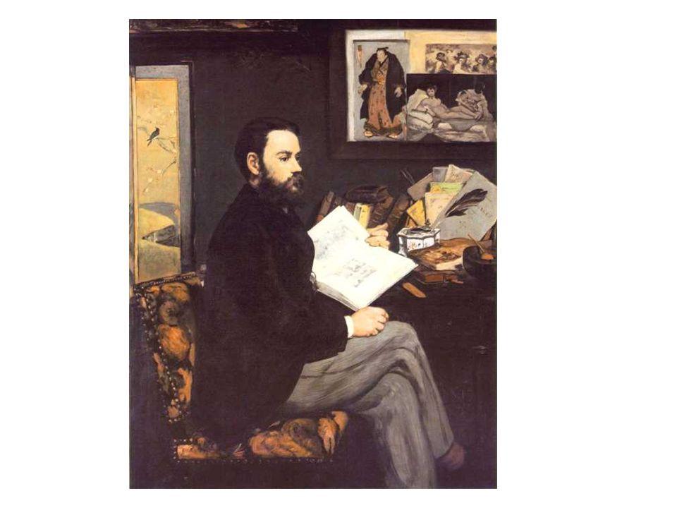 Manet: Emile Zola.