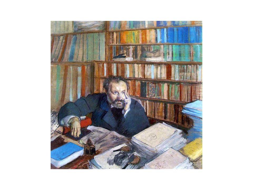 Degas: Monsieur Duranty. Format carré du tableau nouveau