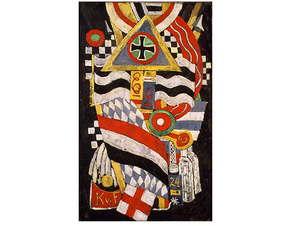 Marsden Hartley: Portrait d'officier allemand