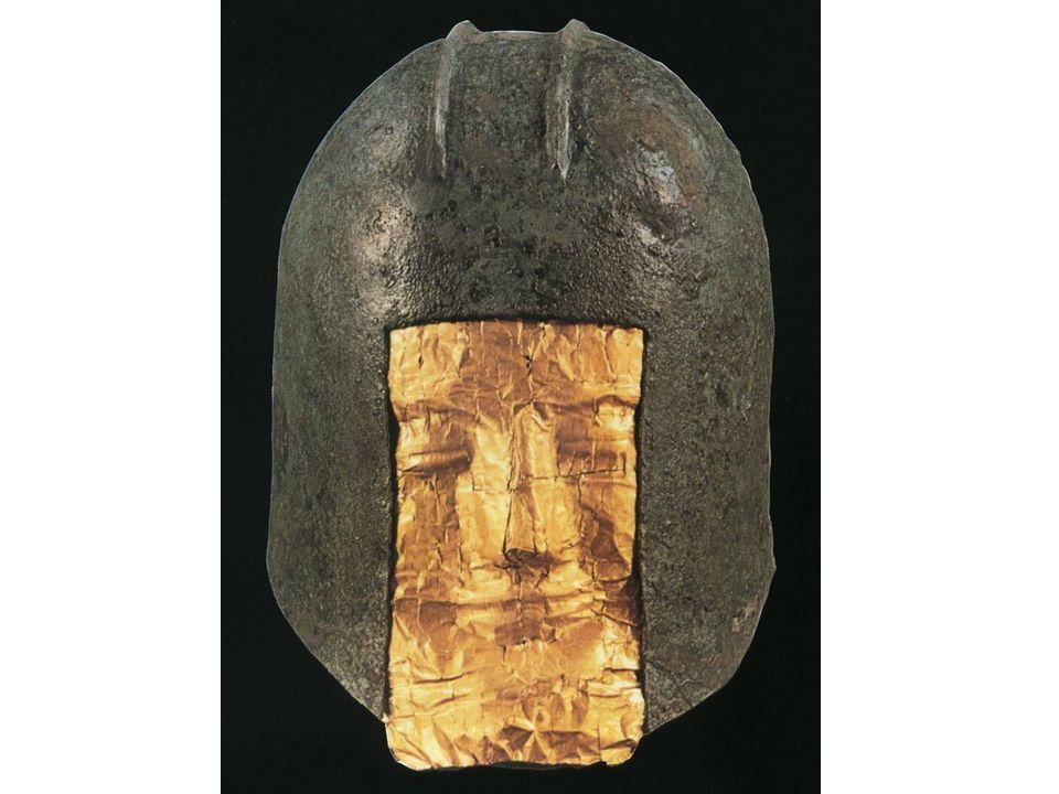 Masque funéraire datant de 500 av. J. -C