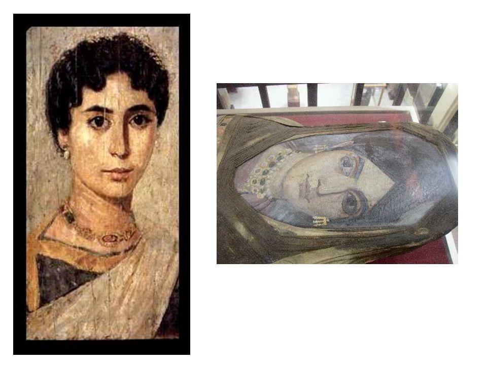 Portrait du Fayoum (Égypte chrétienne IIème –IIIème siècle)