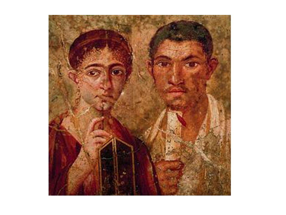 Double portrait de Pompéi (Italie Ier siècle)
