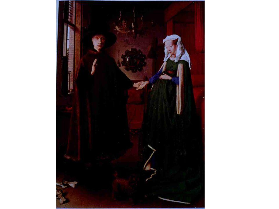 Van Eyck, 1434: Les époux Arnolfini