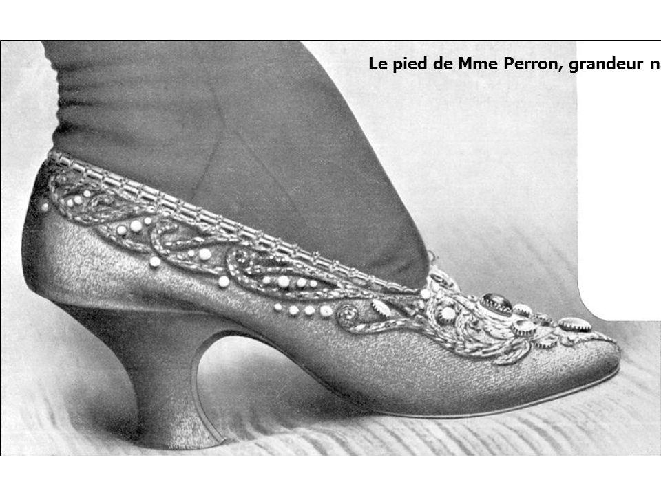 Le pied de Mme Perron, grandeur nature, 1905