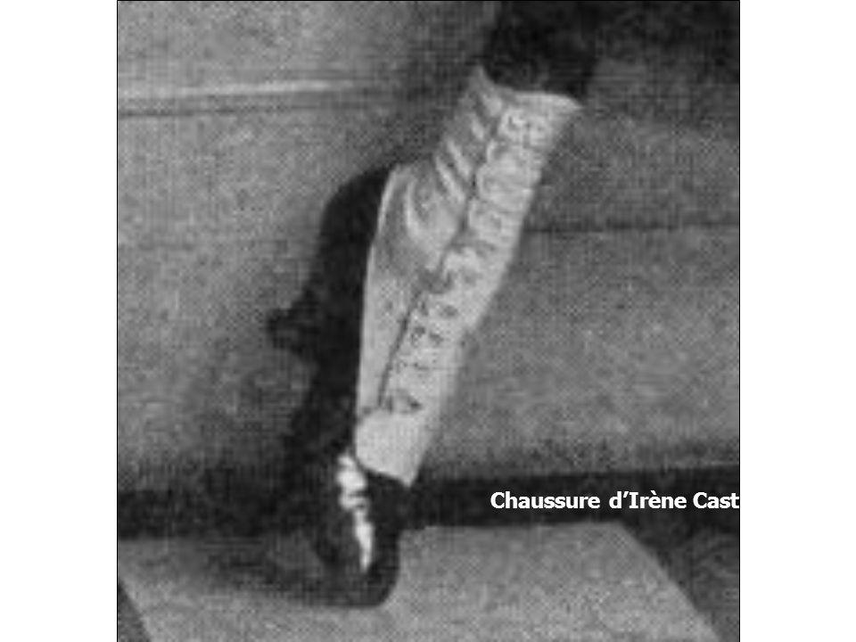 Chaussure d'Irène Castle, 1917