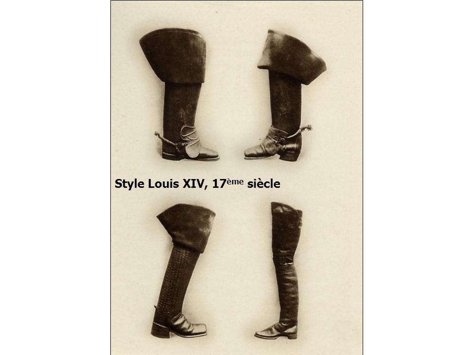 Style Louis XIV, 17ème siècle
