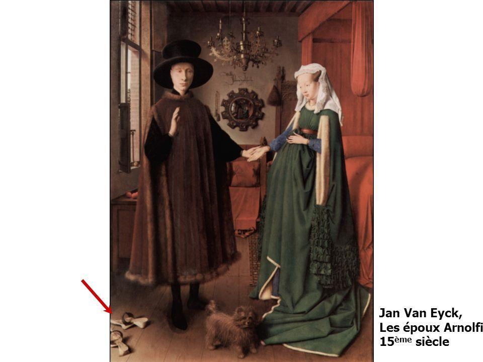 Jan Van Eyck, Les époux Arnolfini 15ème siècle